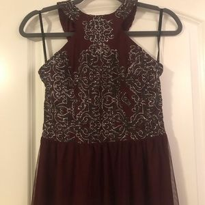 Wine colored Prom/Bridesmaids/special event dress